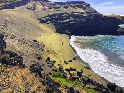 Green Sand Beach - Papakolea Beach