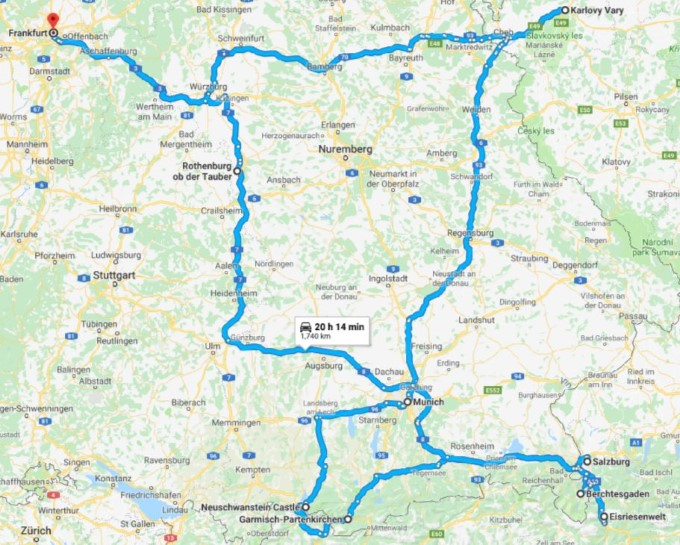Central Europe Road Trip