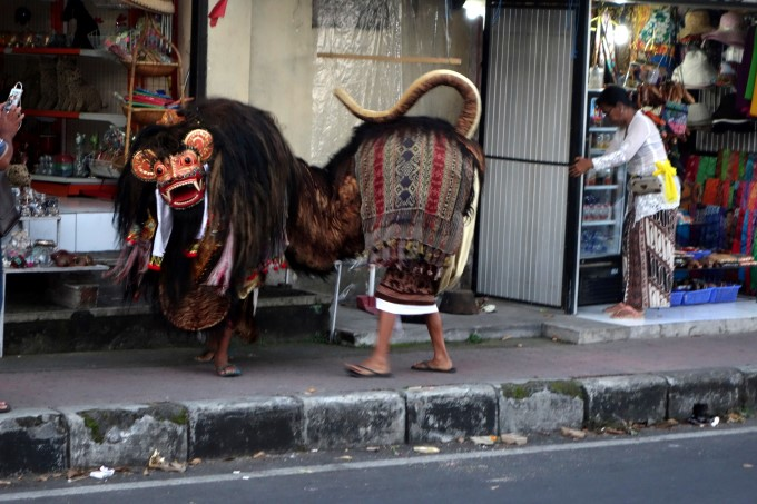 Barong Street Performance in Ubud