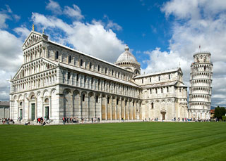 Piazza dei Miracoli & Tower of Pisa