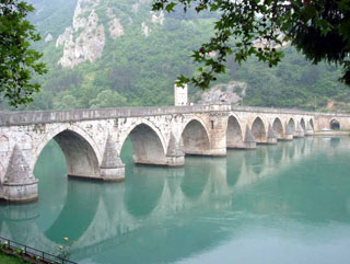 Mehmed Pasa Sokolovic Bridge in Visegrad