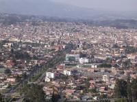 Centre of Santa Ana de los Ríos de Cuenca